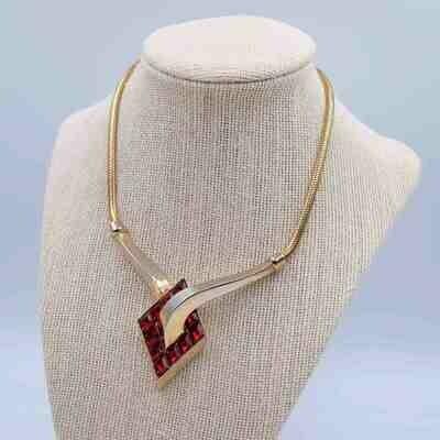 Vintage Trifari Art Deco necklace 1950s