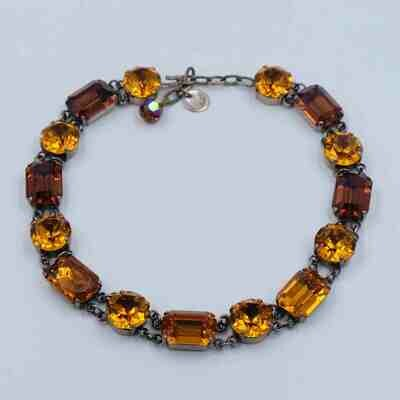 Early Yves Saint Laurent YSL Necklace 1960s