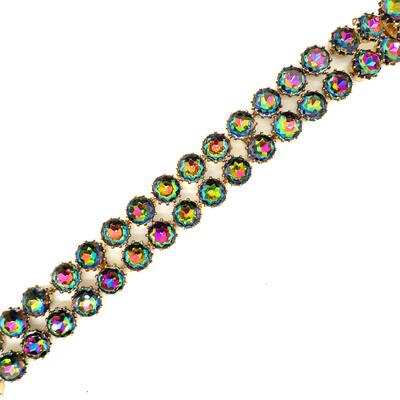 Vintage Schiaparelli Double Strand Bracelet 1950s