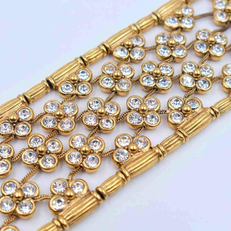 Collectible Christian Dior Boutique Necklace Choker 1980s