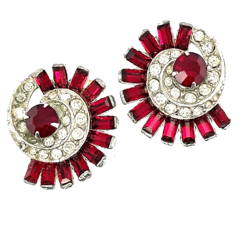 Bogoff Vintage Earrings 1940's