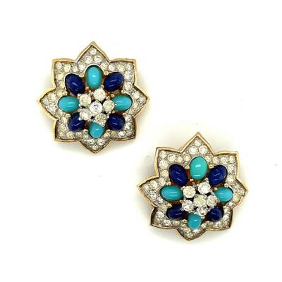 Vintage Jomaz Earrings 1960's