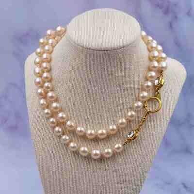Vintage Chanel Long Sotuar Necklace 95P
