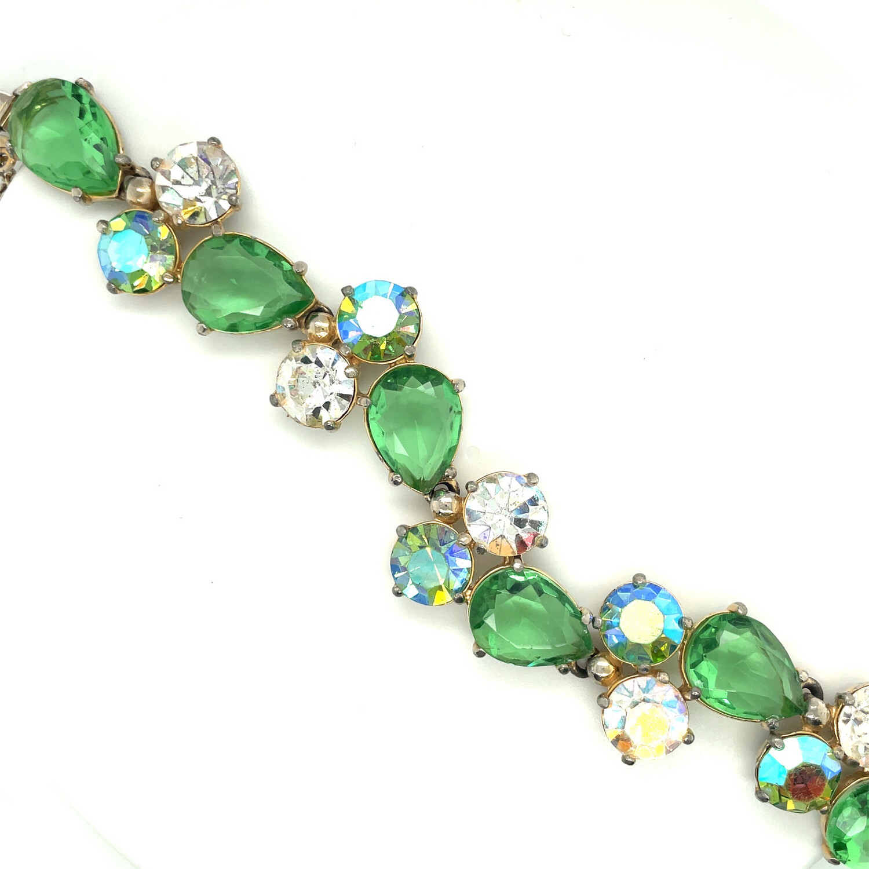 Vintage Schiaparelli Lime Bracelet 1950's