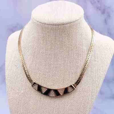 Vintage Christian Dior Geometry Necklace 1990's