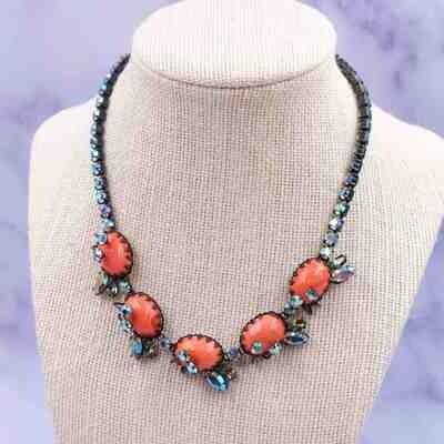 Vintage Hattie Carnegie Rare Necklace 1960's