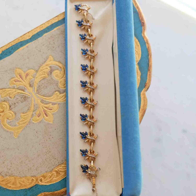 Vintage REJA Bracelet Maple Leaf 1950's