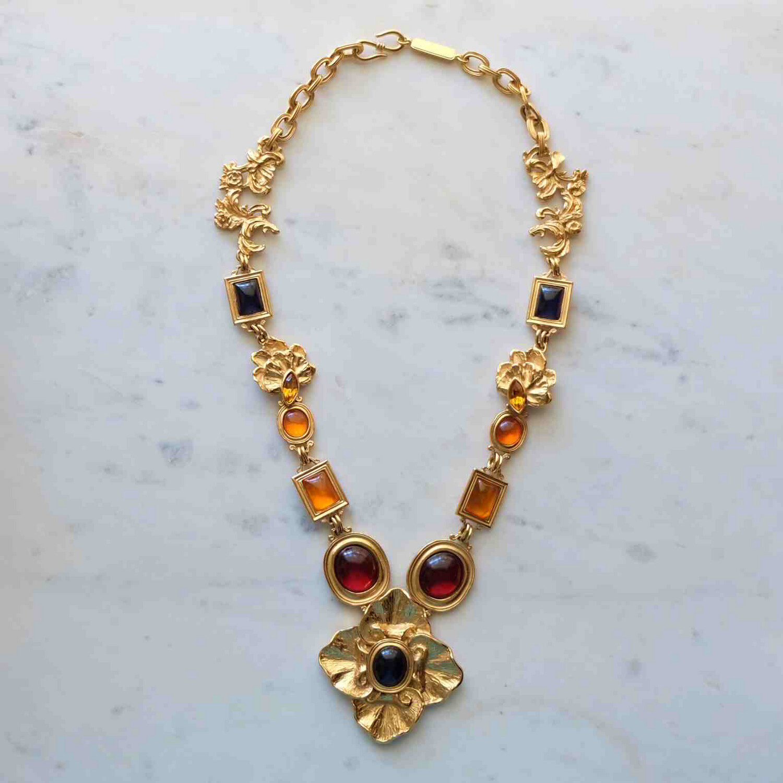 Vintage Collectible Yves Saint Laurent 1980's Necklace