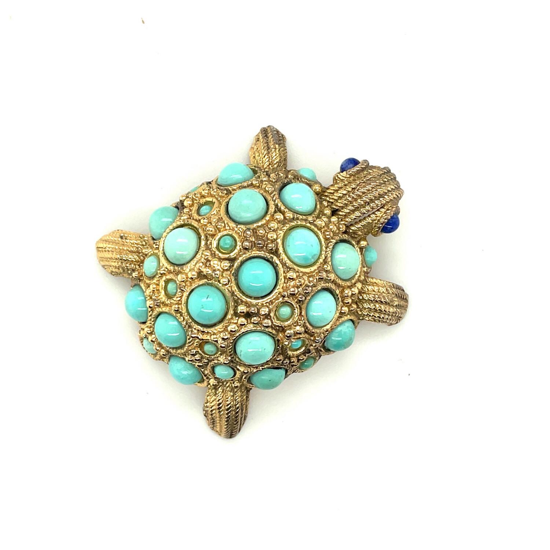 Vintage Grosse Turtle Pin 1960's