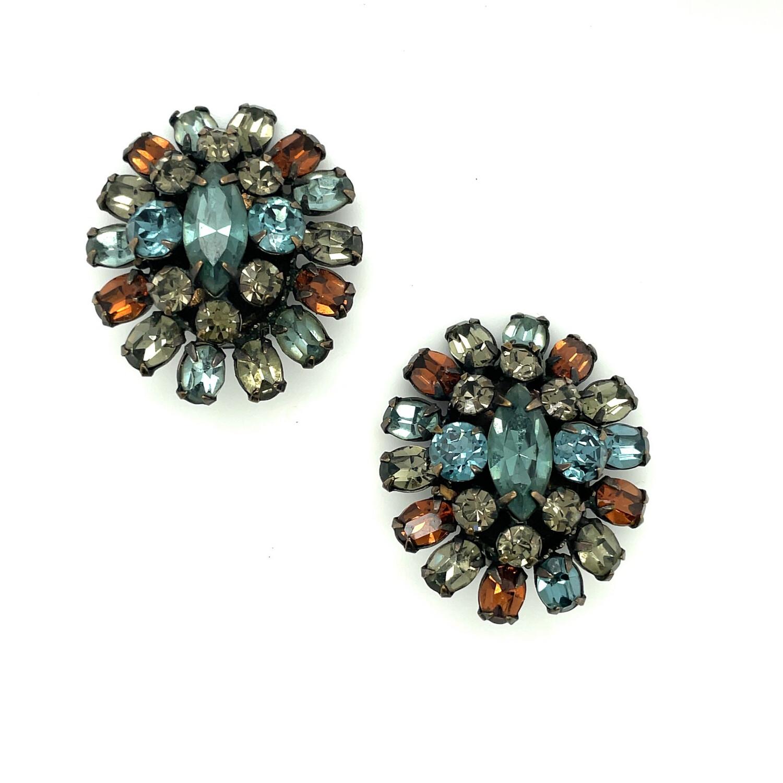Vintage Schreiner Earrings 1950's