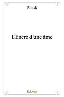 L'encre d'une âme (Livre) (2017)