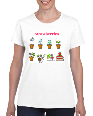 Strawberries by D.D. Shantell