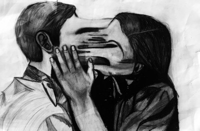 """Stuck In Love"" Paper Print"