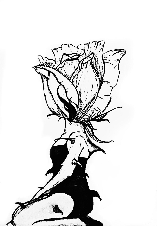 """Still Blooming"" Paper Print"