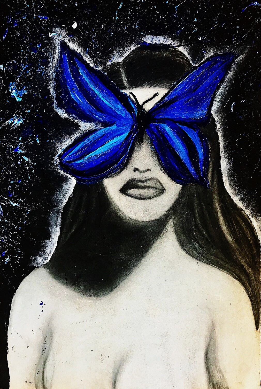 """""""Butterfly Effect"""" Paper Print"""