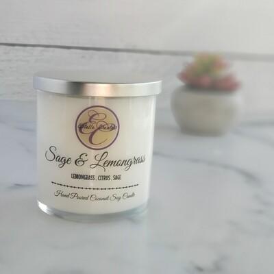 Sage & Lemongrass Double Wick Candle 9.5oz