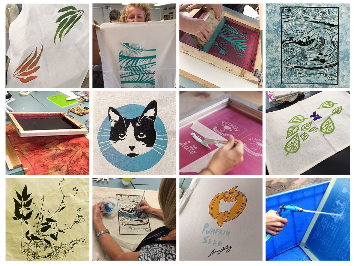 3 DAYS: Introduction to all-things Screen Printing with Potts. Beginner to advanced​, 5-7 October 2019.