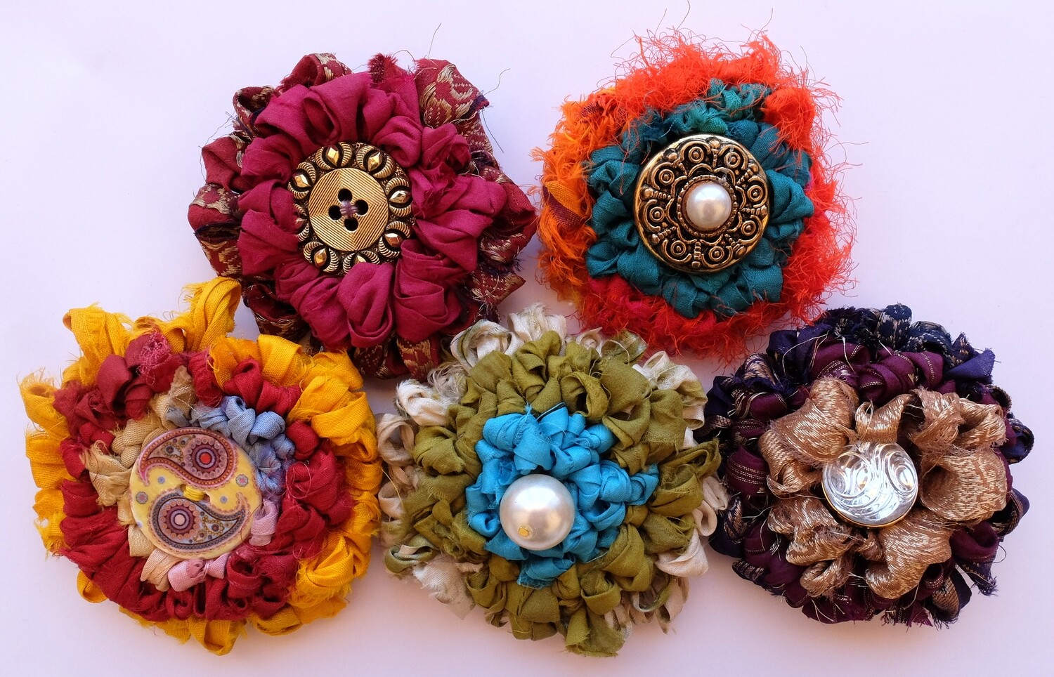 Triple Treat of Brooches with Fiona Hammond