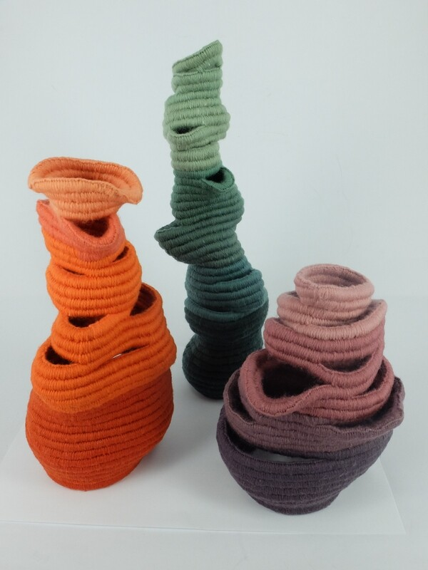 Sculptural Coiling with Delightful Distortions with Fiona Hammond