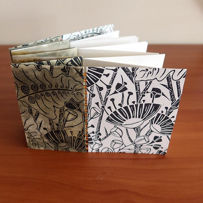 Fold, Split & Stitch: An Articulated Artist Book with Claire Brach