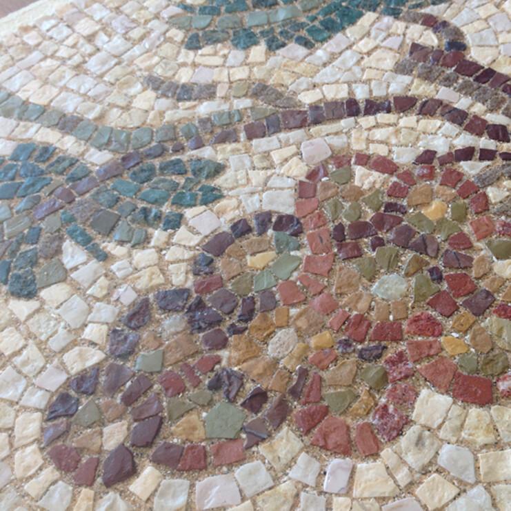Tesserae di Aquileia – Roman Inspired Marble Mosaic with Caitlin Hepworth