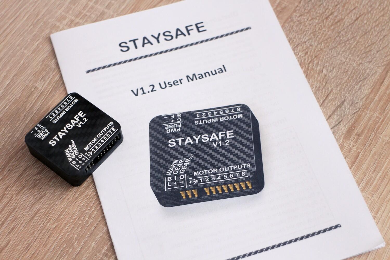 Staysafe 8 - UAV/Drone Throttle Cut / Parachute Aux Safety System