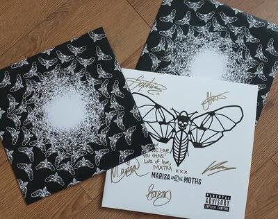 'Deluxe Edition' Double White Vinyl LP