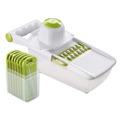 8 in 1 grater with collector