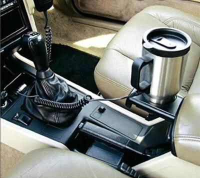 Heated Travel mug for vehicle
