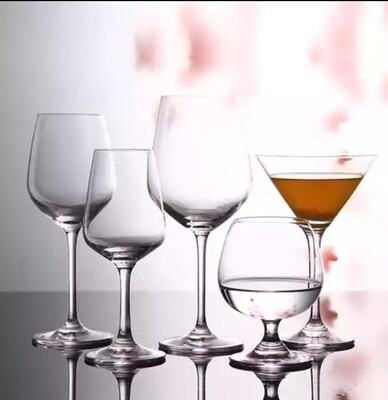Vintage Champagne Cocktail Wine Glasses