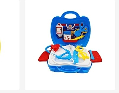 Kids Little Doctor Suitcase And Accessories