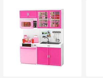 Large Girl Kid Wooden Play Kitchen Playset Children Role Pretend Set Toys
