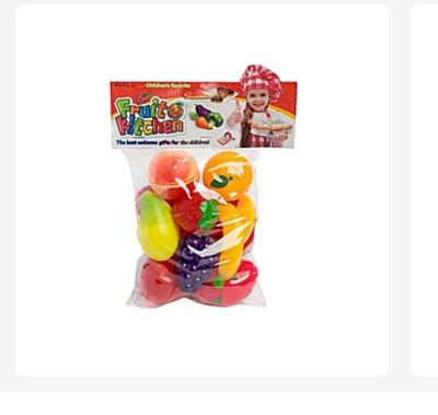 10pcs Kids Pretend Fruit Set (3yrs +)