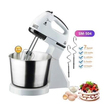 Electric Stand mixer Dough/Egg/Cake mixer  with bowl
