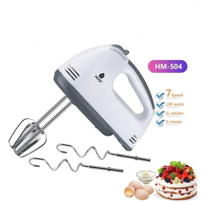 Nunix Hand Mixer(Dough mixer) HM-504