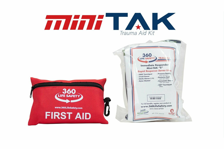 "mini-TAK ""E"" Kit with First Aid Kit"