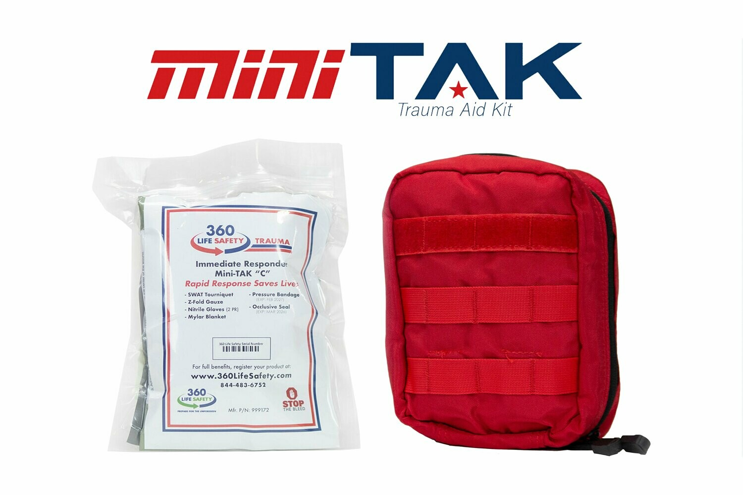 "mini-TAK ""C"" Kit with Molle Bag"