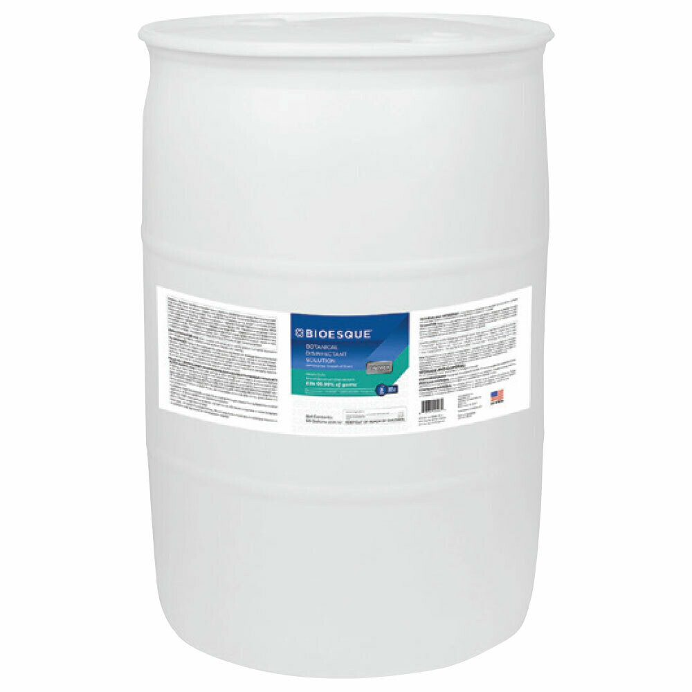 BIOESQUE Botanical Disinfectant Solution - 55 Gallon Drum