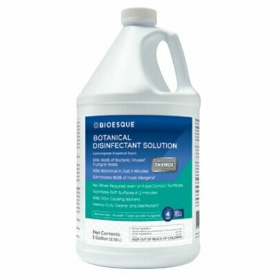 BIOESQUE Botanical Disinfectant Solution - 1 Gallon Container
