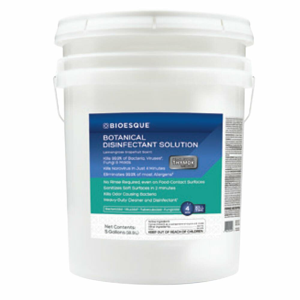BIOESQUE Botanical Disinfectant Solution - 5 Gallon Pail