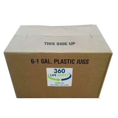 Hand Sanitizer - Case of 1 gal. Re-fill Bottles (case of 6)