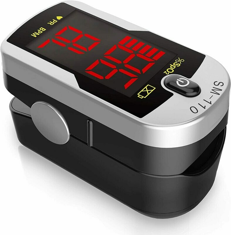 SantaMedical SM-110 Finger Pulse Oximeter (ea.)