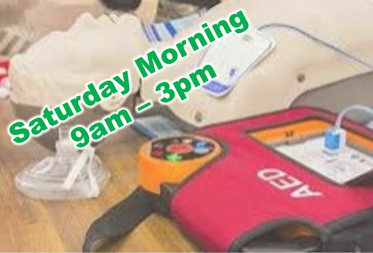 Mar. 20th, 2021 (Saturday) 9:00am-3:00pm CPR Class