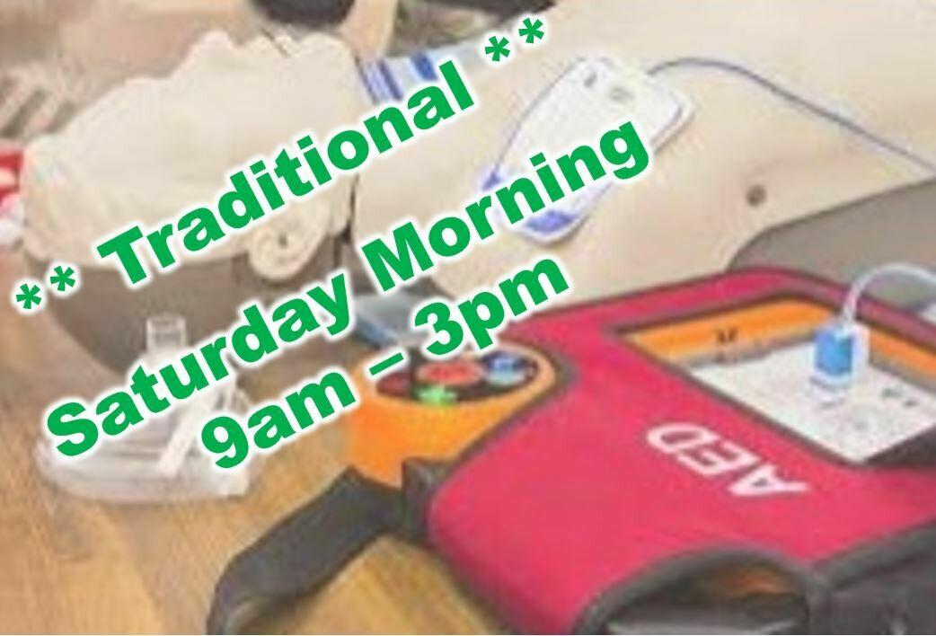 Mar. 20th, 2021 (Saturday) 9:00am-3:00pm CPR Class