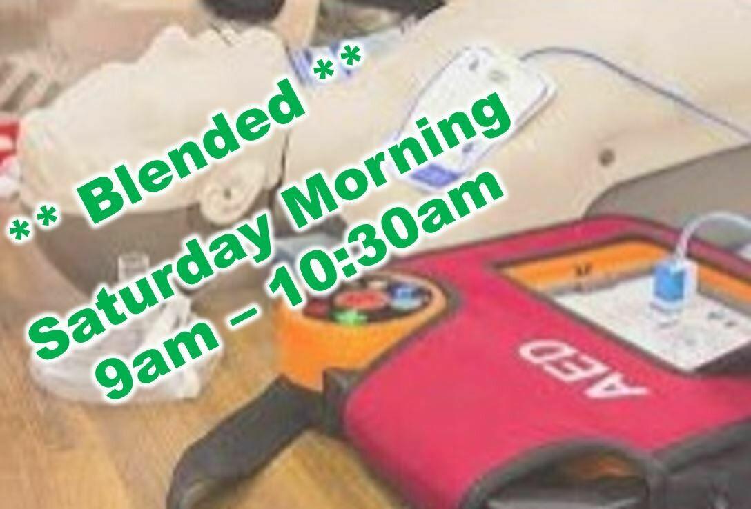 Apr. 24th, 2021 (Saturday) 9:00am-10:30am CPR Class