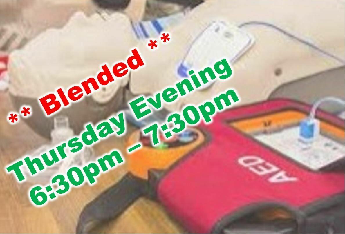 Jul. 15th, 2021 (Thursday) 6:30pm-7:30pm CPR Class
