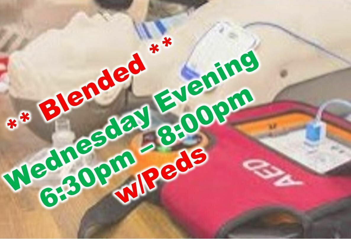May 19th, 2021 (Wednesday) 6:30pm-8:00pm CPR Class