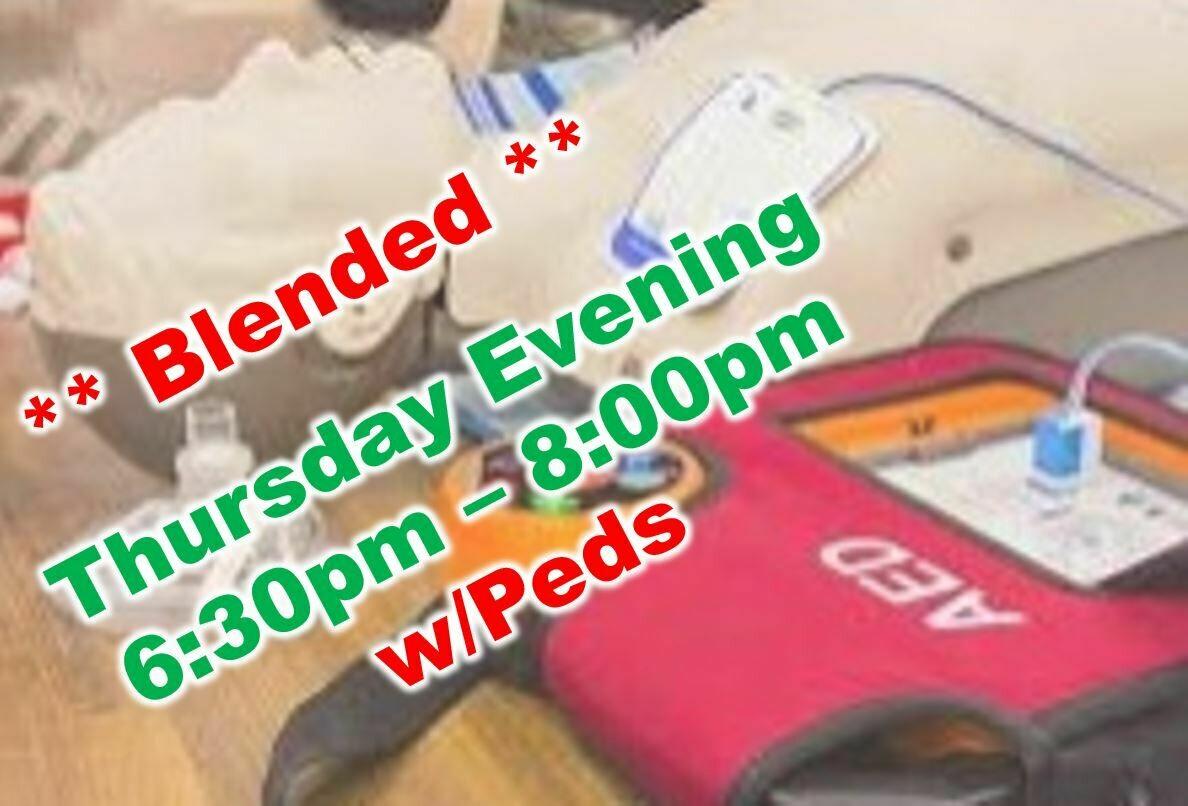 Sept. 9th, 2021 (Thursday) 6:30pm-8:00pm CPR Class