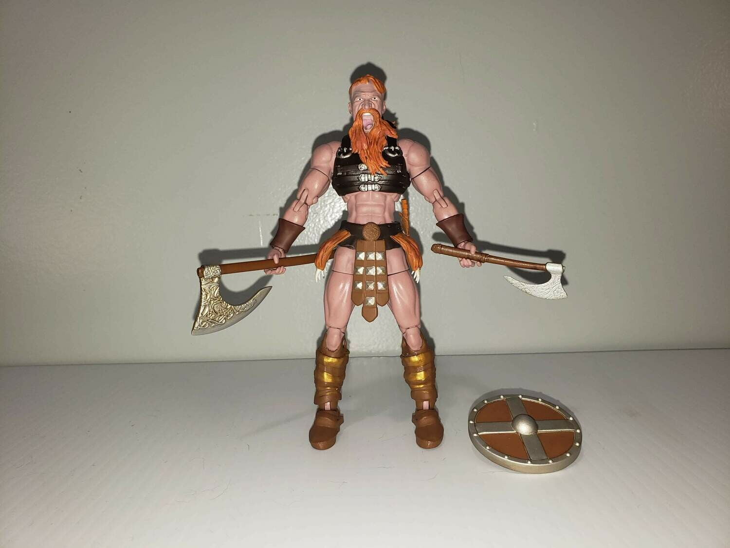 """Red Siguror"" The Viking Action Figure"