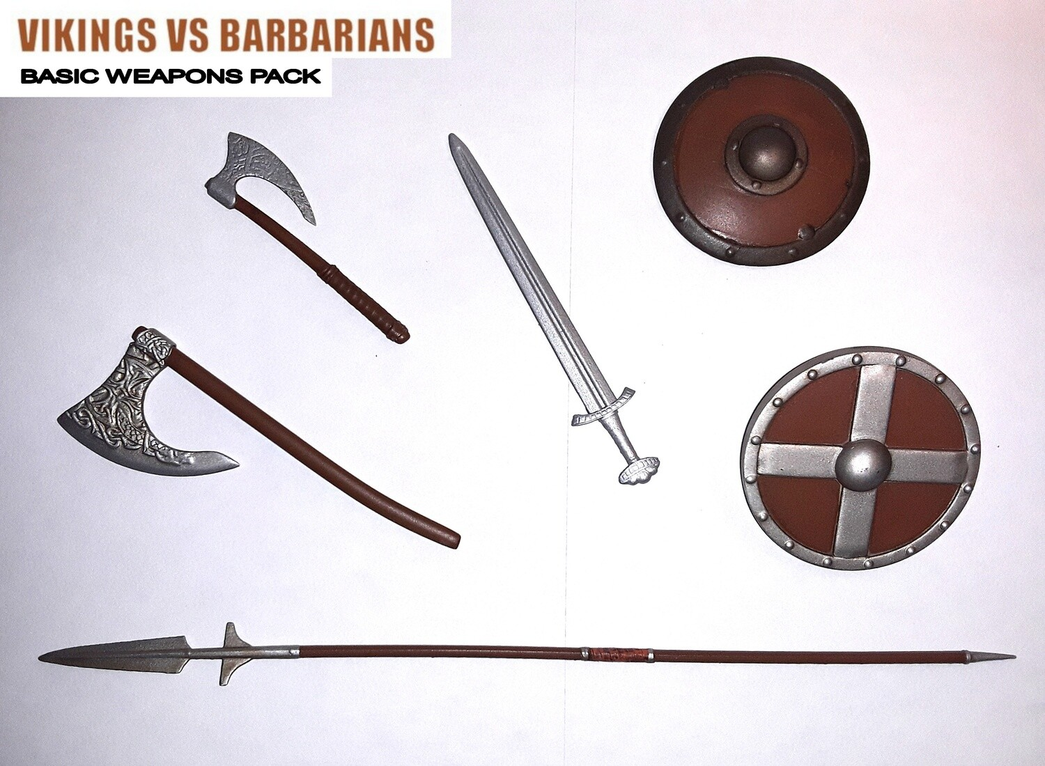 Viking vs Barbarian basic weapons pack